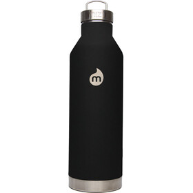 MIZU V8 Insulated Bottle with Steel Cap 800ml Soft Touch Black LE